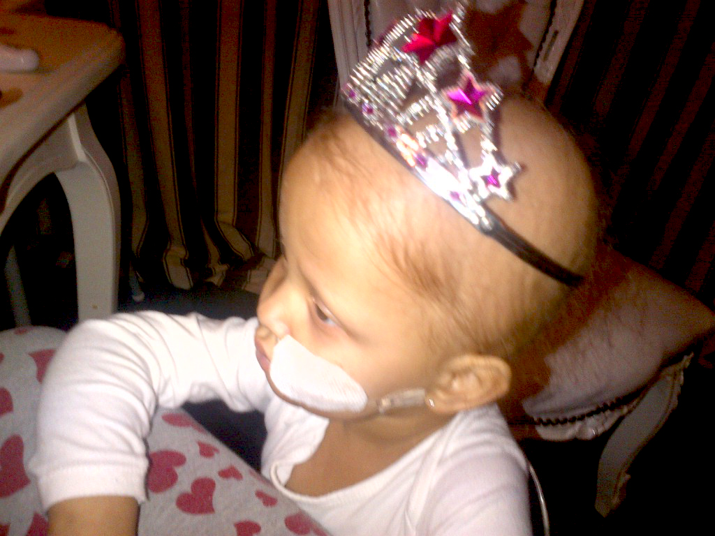Elifsu als Prinsesje